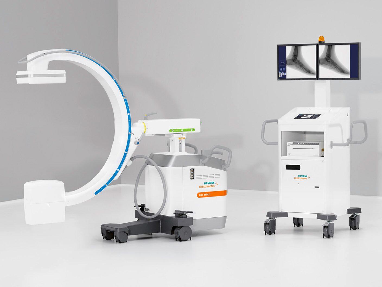 Funções do Painel de Controle do Arco Cirúrgico