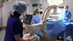Utilização do arco cirúrgico em tratamento de trauma